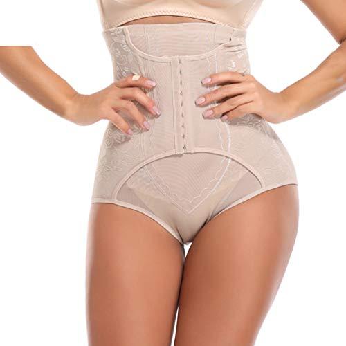 - DOCOLA Control Panties High-Waist Trainer Tummy Body Shaper Butt Lifter Women Seamless Underwear Hip Enhancer Beige