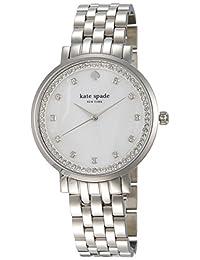 Kate Spade Women's Monterey 1YRU0820 Silver Stainless-Steel Quartz Watch