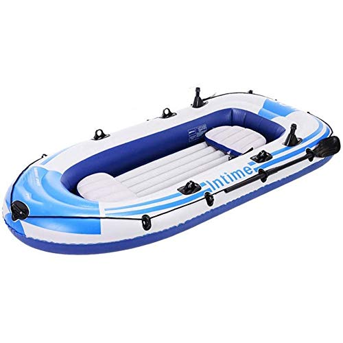 LLSZ Kayak, Inflatable Boat PVC Material, Suitable for Fishing, Outdoor, Sea Sports, 1-2 People