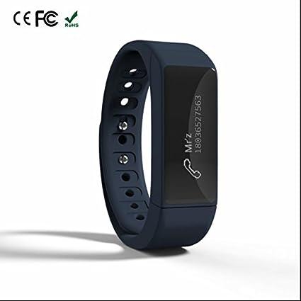 Reloj Inteligente teléfono Celular Reloj Vibra Recordar, Silicona Watchbands, medidor de calorías quemadas,