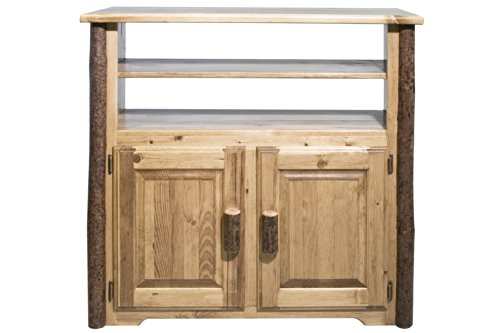 Montana Woodworks MWGCMC Glacier Country Collection Media Center