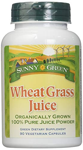 (Sunny Green Wheat Grass Juice, 90 Count)