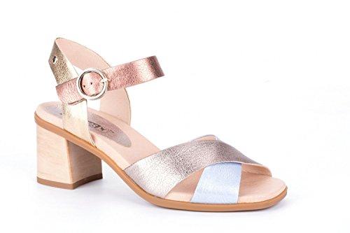 Pikolinos Denia W2R-1638CLC1 Sandalias de Cuero Para Mujer Gold