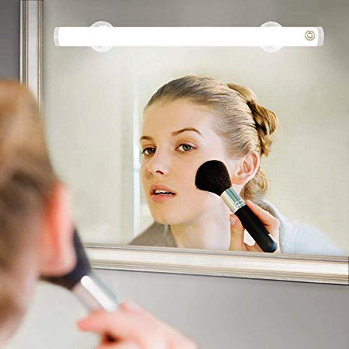 Wireless LED Makeup Mirror Lights, Portable Vanity Mirror Lights | Simulated...