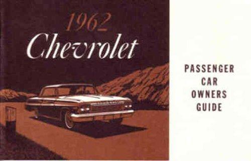 Download 1962 Chevrolet Passenger Car Owners Manual ebook