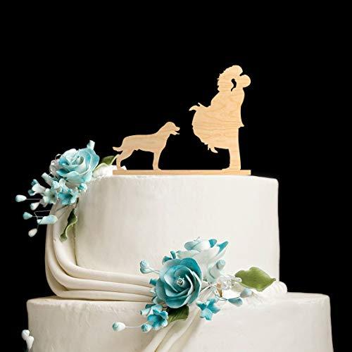 Rottweiler wedding cake topper rottweiler wedding cake topper with dog dog cake topper dog wedding cake topper wedding cake topper dog