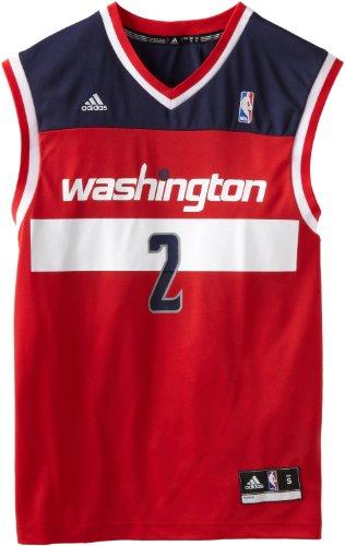 NBA Washington Wizards John Wall Road Replica Jersey Red, X-Large