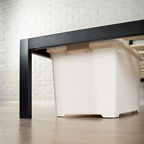 Zinus Modern Studio 14 Inch Platform 3000 Metal Bed Frame