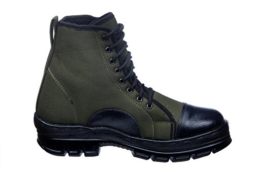 SSG Men's Ankle Canvas Military and Tactical Jungle Combat Boot - stylishcombatboots.com