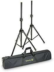 Gravity SS 5211 B Set 1-Set of 2 Speaker Stands with Bag (GSS5211BSET1)