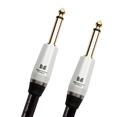 Monster Studio Pro 2000 Speaker Cable TS-TS Speaker Cable - 3' (Speaker Cable Monster Connectors)