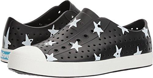 Native Shoes Unisex Jefferson Jiffy Black/Bone White/Big Star 10 Women / 8 Men M US