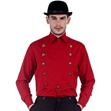 Steampunk Airship, Victorian or Western - Color Red - Shirt Sizes Small - XXX-Large
