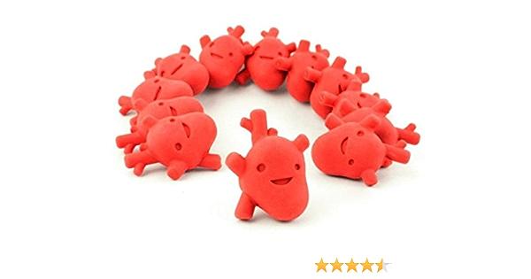 I Heart Guts Love Your Liver Erasers Bag of 12