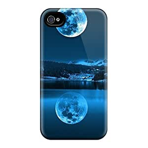 FizgdfP3025rqbXw Case Cover Protector For Ipod Touch 5 Case Cover Moon In Cold Lakes Case