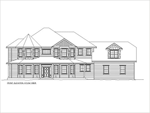 Construction Ready House Plan - 6 Bedroom House - 4, 723 ...