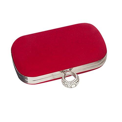 pour femme Pochette aloiness aloiness Red Pochette 04tqHH