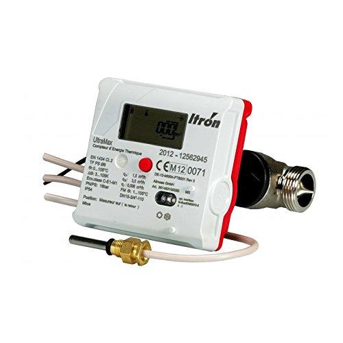 COMPTEUR ULTRAMAX ENERGIE THERMIQUE DN15 CHAUD/FROID ITRON / ACTARIS