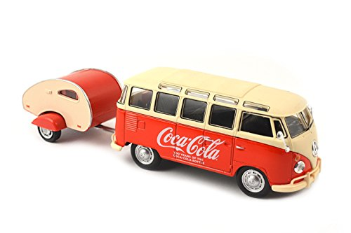 (Motor city classics 1962 VW Samba Bus with Trailer)
