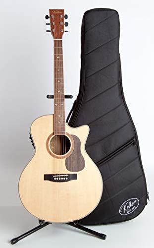 The Carpenter Series | Solid Top Acoustic Electric EQ Guitar | Keller Guitars (Satin)