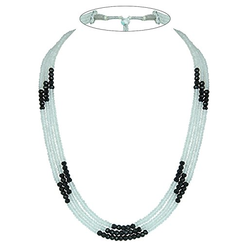 Faceted Roundel Bead Necklace - 9