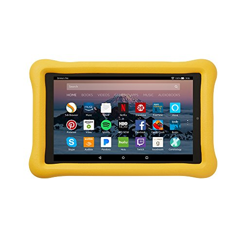 Amazon Kid-Proof Case for Amazon Fire HD 8 Tablet (7th Generation, 2017 Release), Yellow