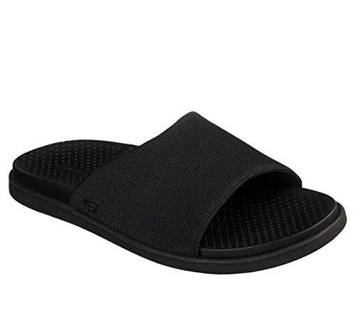 Monego Slides Sandals Relaxed Fit Skechers Mens Vesto Black ZtBwnCq