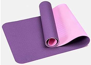 YanLong Colchoneta de Yoga con Materiales ecológicos. TPE de ...