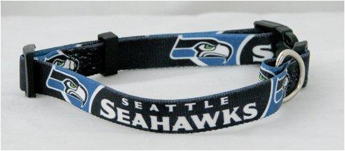 Hunter NFL Seattle Seahawks Dog Collar - Navy Blue (X-Large)