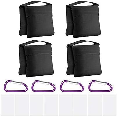 Neewer 4-Pack Bolsas de Arena de Alta Resistencia con Diseño de ...