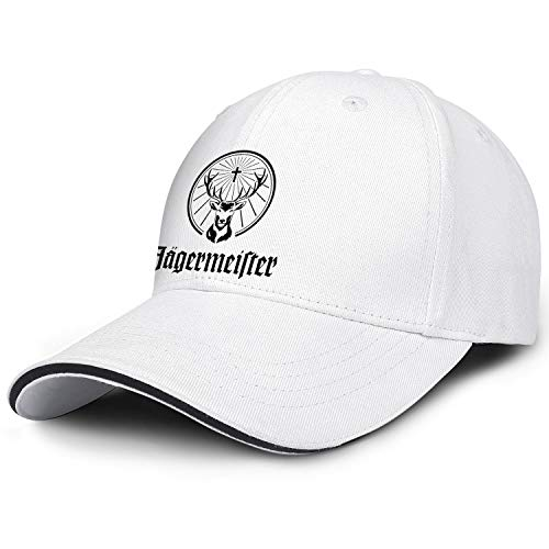 Jagermeister-Logo- Unisex Girl Classic Flat-Brimmed Hat Six Panel Rock Cap