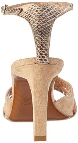 Kallisté 5704 - Sandalias de tacón Mujer Beige