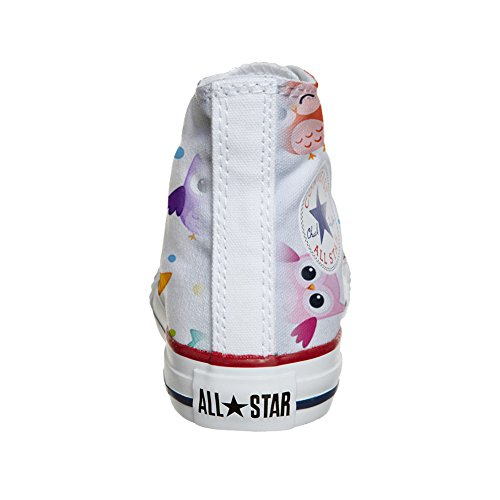 All coutume Hi artisanal Owls Converse Star produit chaussures Tiny PCqSZdZw