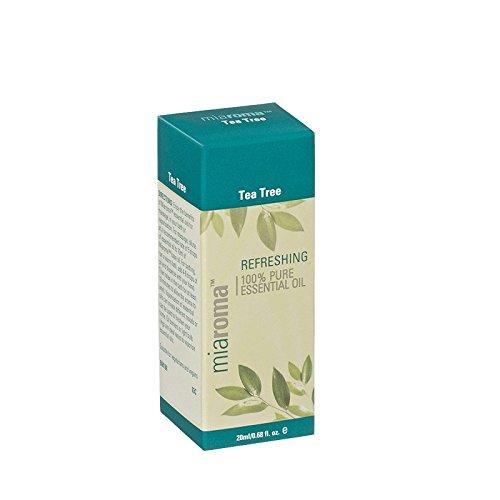 Miaroma Tea Tree Pure Essential Oil (Pack of 6) - Miaromaのティーツリーの純粋なエッセンシャルオイル (x6) [並行輸入品]   B01MYPL058