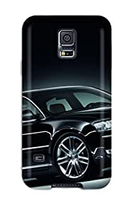 Top Quality Case Cover For Galaxy S5 Case With Nice Audi A8 Black Appearance