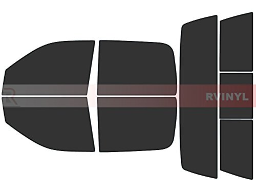 Rtint Window Tint Kit for Ram 1500 / 2500 / 3500 2010-2017 (4 Door) - Complete Kit - 20% Pre Cut Window Tint