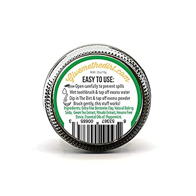 The Dirt All Natural Tooth Powders