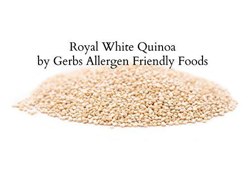 GERBS White Quinoa Grain, 4 LBS - Top 12 Food Allergy Free & NON GMO by Vegan & Kosher – Packaged on Dedicated Equipment in USA by GERBS (Image #1)