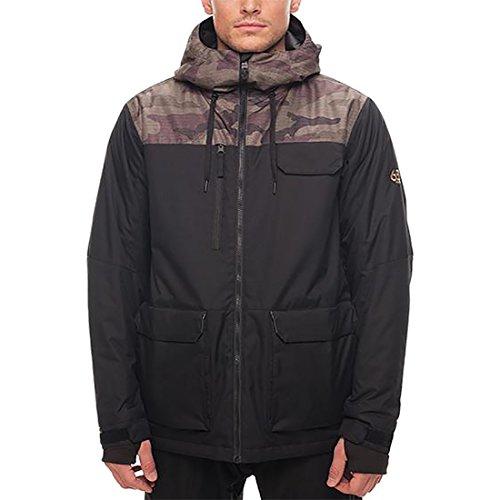 686 Mens Sixer Insulated Jacket (Fatigue Camo Colorblock)