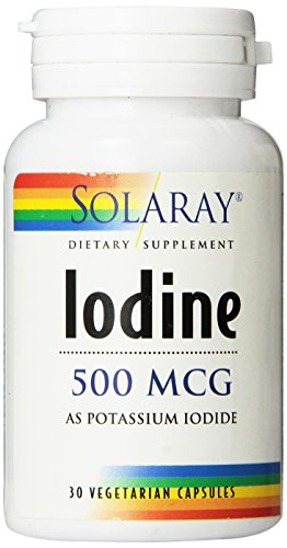Solaray Iodine as Potassium Iodide Capsules, 500 mcg, 30 Count Review