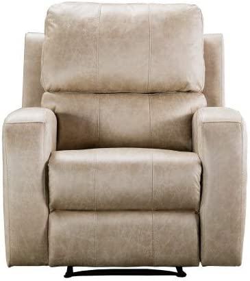 GetNature Electric Power Recliner Chair - Air Suede Electric Faux Suede Leather Recliner Chair with USB Charge Port - Bedroom & Living Room Chair Recliner Sofa