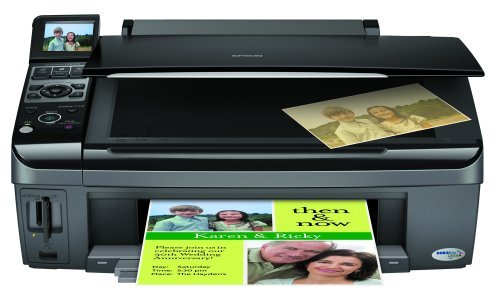 Epson Stylus CX8400 Color All-in-One Printer