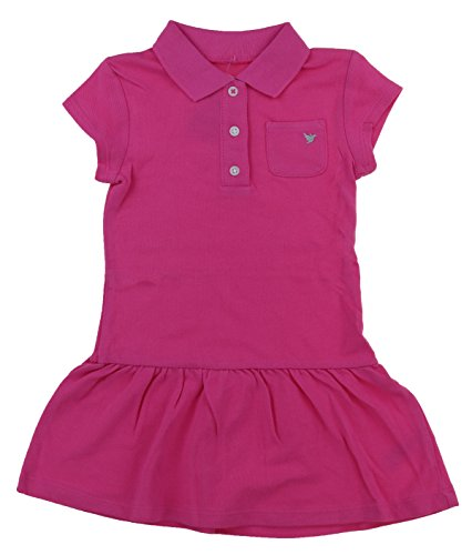 Carter's Girls Cute Summer Play Dresses (4T, Pink Solid)