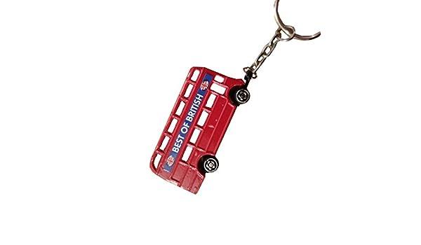 3-D Metal Londres Routemaster/autobús llavero RECUERDO ...