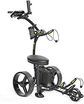Amazon Com Bat Caddy X4 Sport Electric Push Cart W Free Accessory