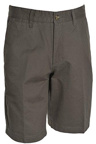 Boston Traders Mens Luxury Vintage Shorts (Charcoal, ()