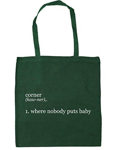 Puts 10 1 x38cm Beach Baby Where Bag Green HippoWarehouse 42cm Gym Bottle Shopping Corner Nobody litres Tote OFWBqSRIn