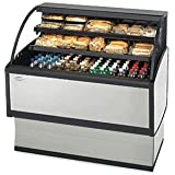 Federal Industries LPRSS3 Specialty Display Low Profile Self-Serve Refrigerated Merchandiser