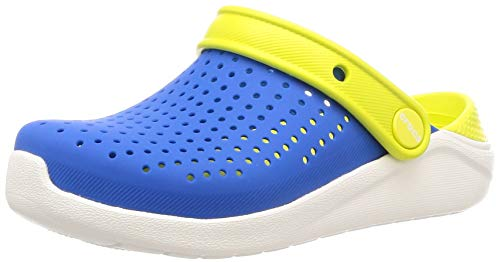Crocs LiteRide Clog, Bright Cobalt/Citrus, 6 M US Big Kid