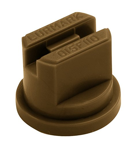 Package of 12 - Hypro Lurmark Flat Fan Spray Tip - 80 Degree - Light Brown - 0.5 GPM (30-05f80lb)